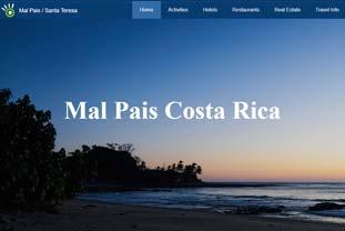 Web Design for Travel Website