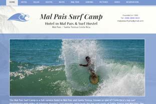 Surf Camp Mal Pais